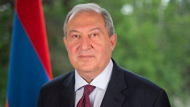 صورة الرئيس الأرميني يوجه رسائل إلى نظيريه المصري والأردني