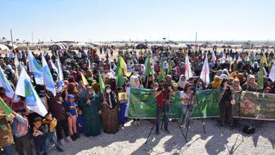 صورة برامج وأنشطة منوعة لحملة التنظيمات وحركات ومؤسسات المرأة في شمال وشرق سوريا