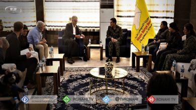 صورة الوفد السويدي يؤكد استمرار تعاون وتضامن استوكهولم مع قوات سوريا الديمقراطية والمنطقة