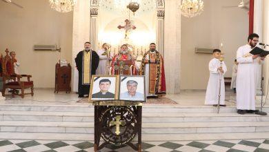 صورة قامشلو..إحياء الذكرى السنوية الأولى لاستشهاد راعي كنيسة مار يوسف للأرمن الكاثوليك