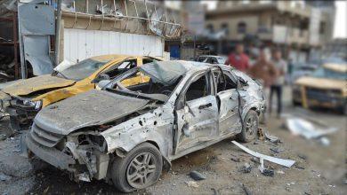 صورة مقتل 4 دواعش مطلوبين لقوى الأمن بانفجار عبوة ناسفة بمركبتهم في صلاح الدين