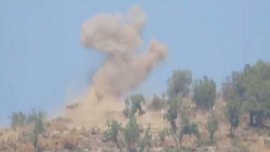 صورة بالفيديو..قوات الدفاع الشعبي: نشر مشاهد مصورة لعملية عسكرية ضد جيش الاحتلال التركي في حفتانين