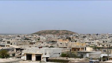 صورة بعد قصف ليلي عنيف .. جيش الاحتلال ومرتزقته يجددون استهداف قرى ونواحي الشهباء