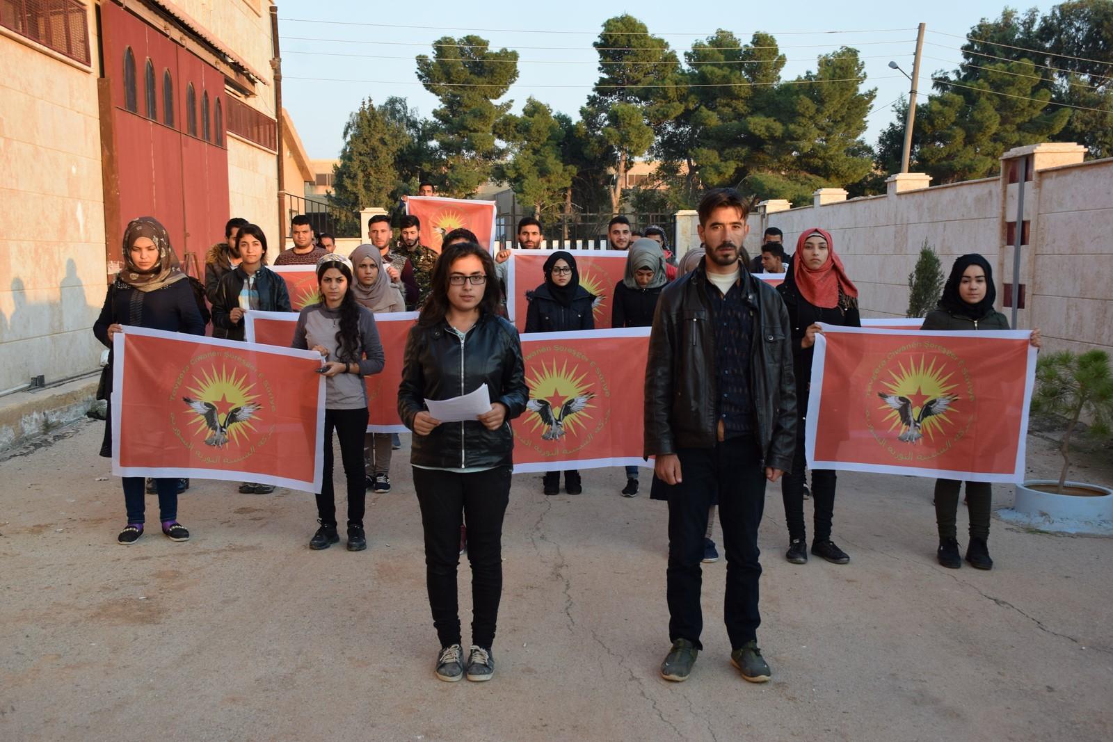 Photo of YCR ENCAMNAMEYA KONGRA XWE EŞKERE KIR