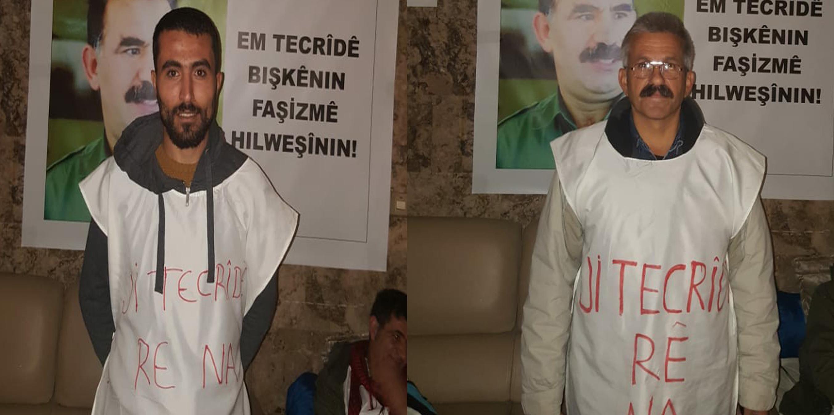 Photo of NÛNERTIYA HDP'Ê LI HEWLÊRÊ  DEST BI GREVA BIRÇÎBÛNÊ YA BÊ DEM Û DORVEGER KIR
