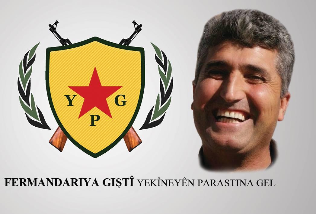 Photo of ÎRO SALVEGERA ŞEHADETA FERMANDAR Û DAMEZRÎNERÊ YPG'Ê XEBAT DÊRIK