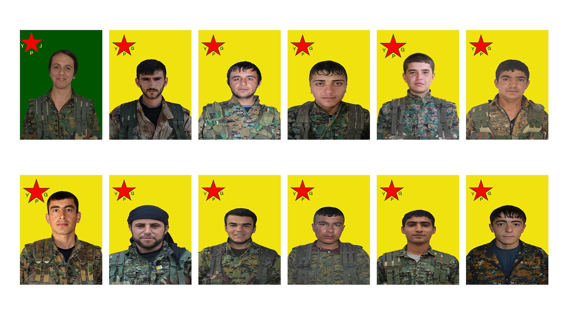 Photo of YPG'Ê NASNAMEYA 12 CANGORIYÊN AZADIYÊ EŞKERE KIR