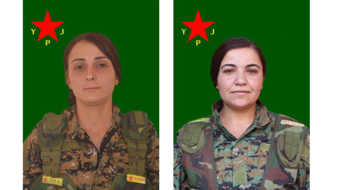 Photo of YPJ'Ê NASNAMEYA DU ŞERVANAN EŞKERE KIR