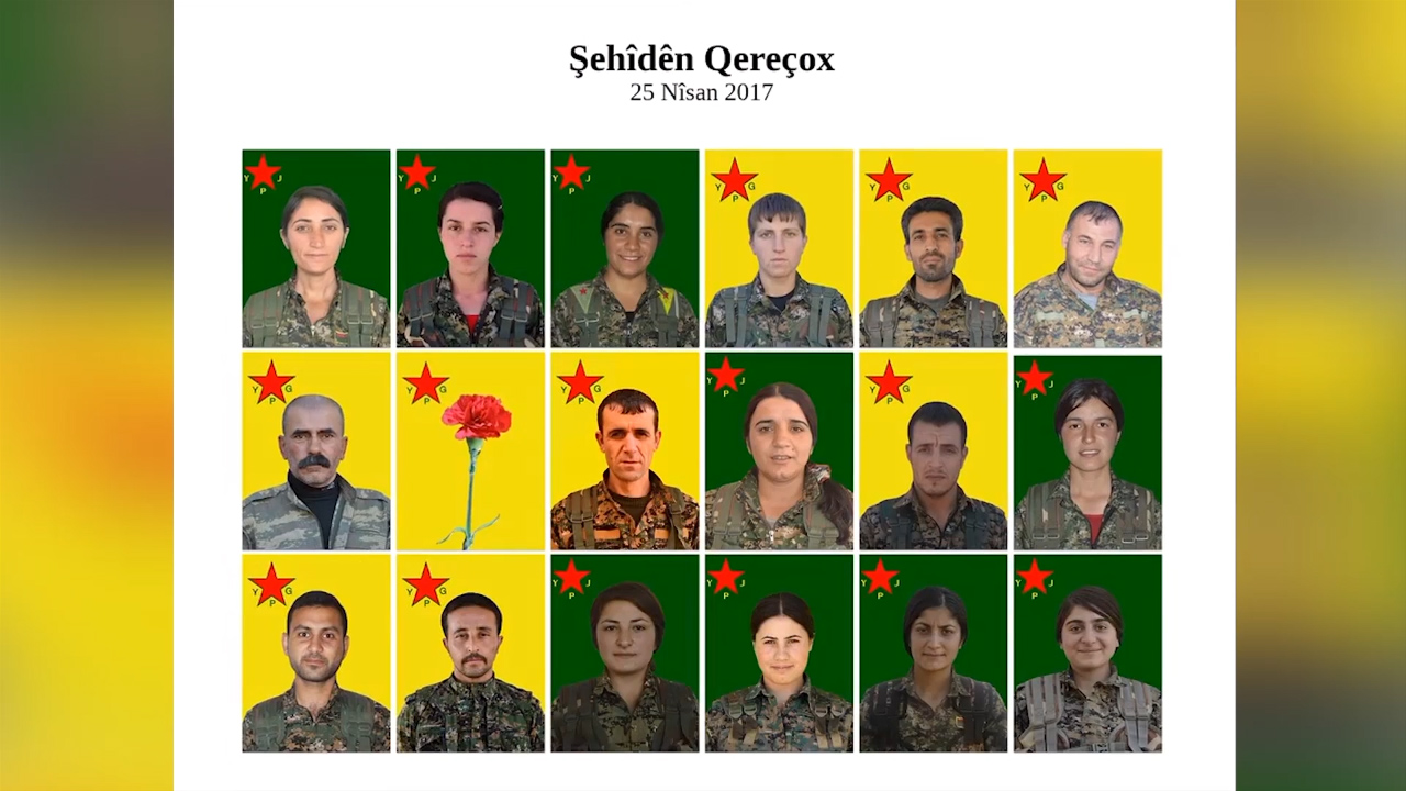 Photo of FERMANDARIYA YPG'Ê ŞEHÎDÊN QEREÇOXÊ BIBÎR ANÎN