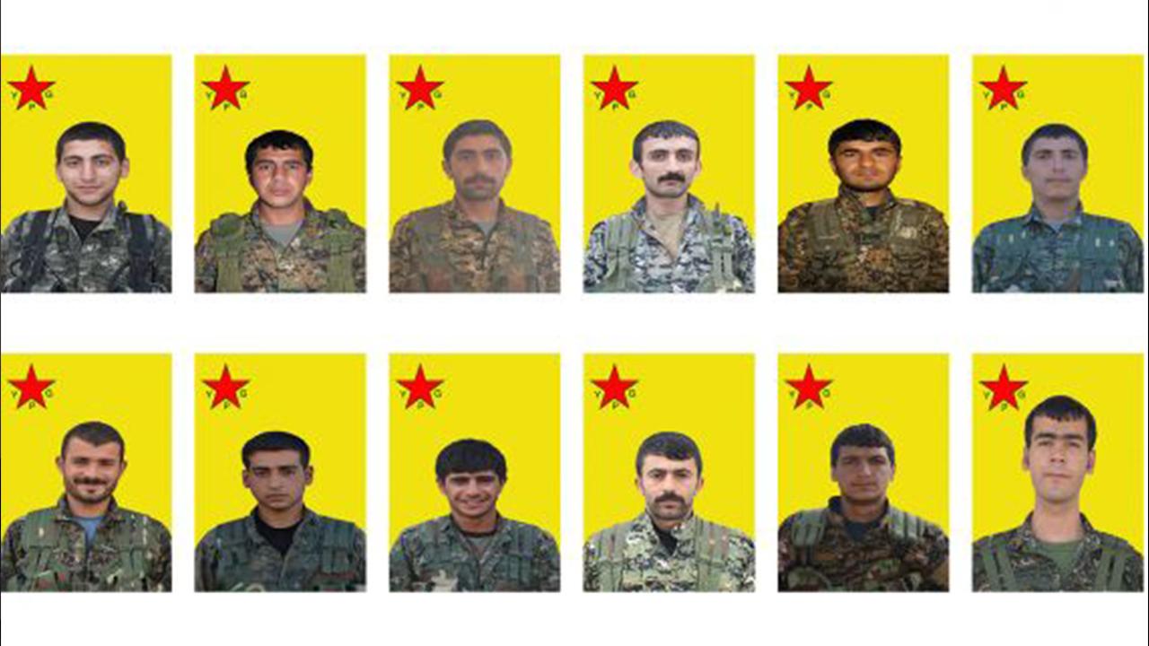Photo of YPG NASNAMEYA 12 ŞEHÎDÊN BERXWEDANA SERDEMÊ EŞKERE KIR