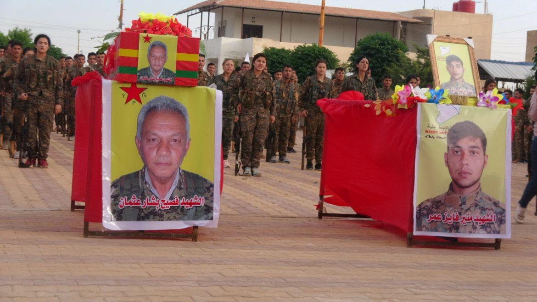 Photo of ŞERVANÊ YPG'Ê FESÎH BEŞAR OSMAN LI HESEKÊ HAT OXIRKIRIN