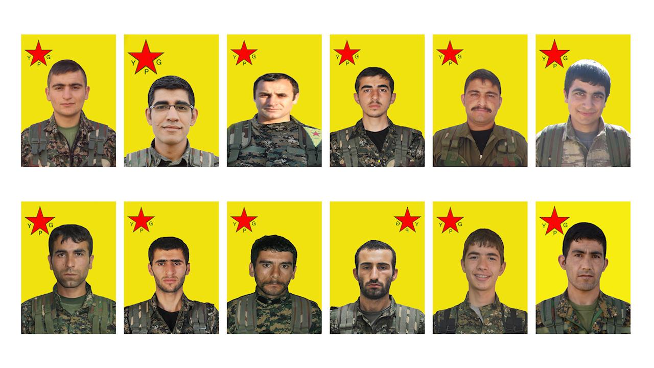 Photo of YPG'Ê NASNAMEYA 12 ŞERVANÊN  XWE YÊN DI DEMÊN CÛDA DE ŞEHÎDBÛNE EŞKERE KIR