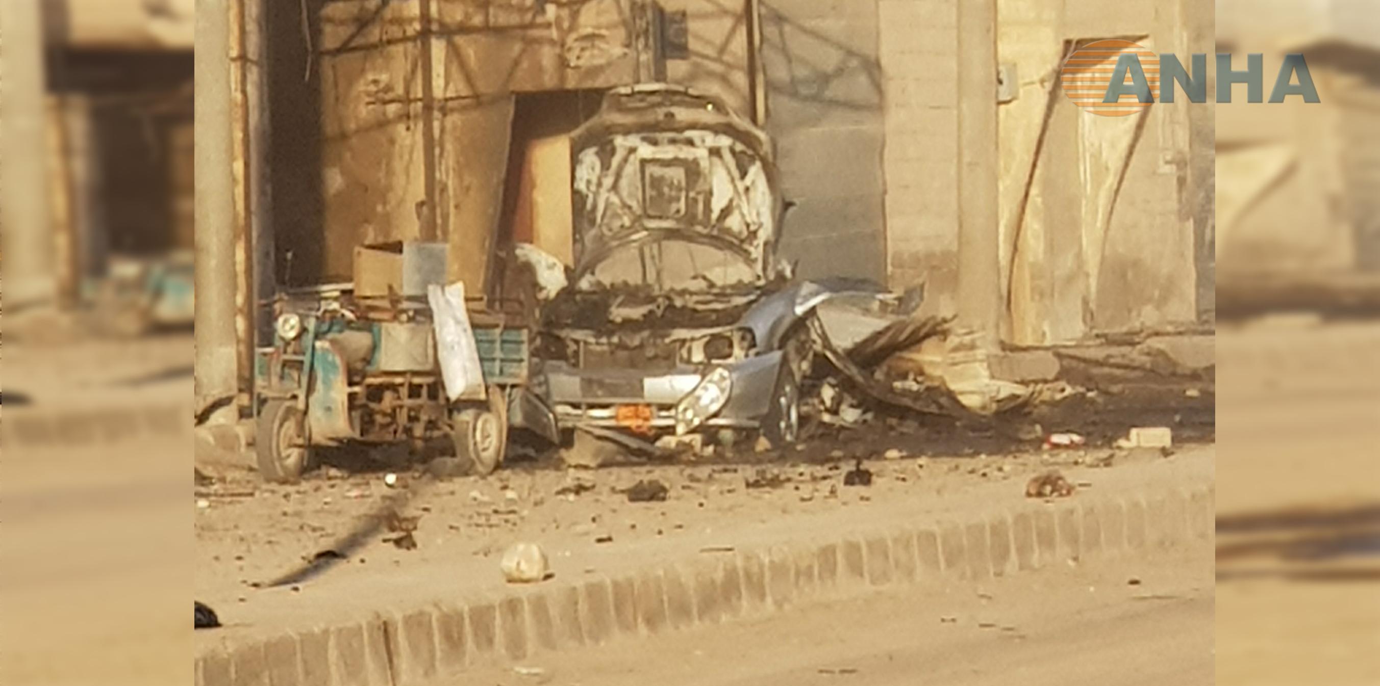 Photo of Di teqîna li Tebqayê de, sivîlek mir, 9 jî birîndar bûn