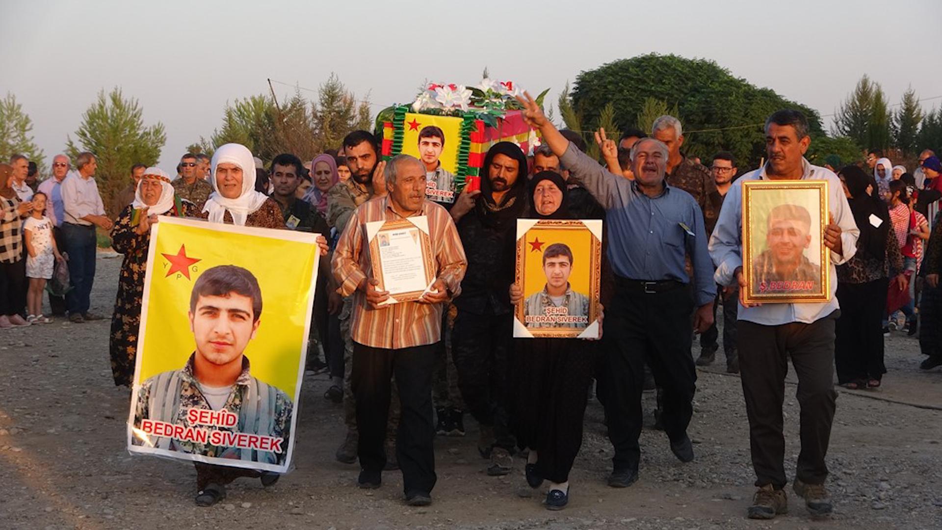 Photo of ŞERVANÊ YPG'Ê MIHEMED SARSO LI GORISTANA Ş. XEBAT DÊRIK HAT OXIRKIRIN