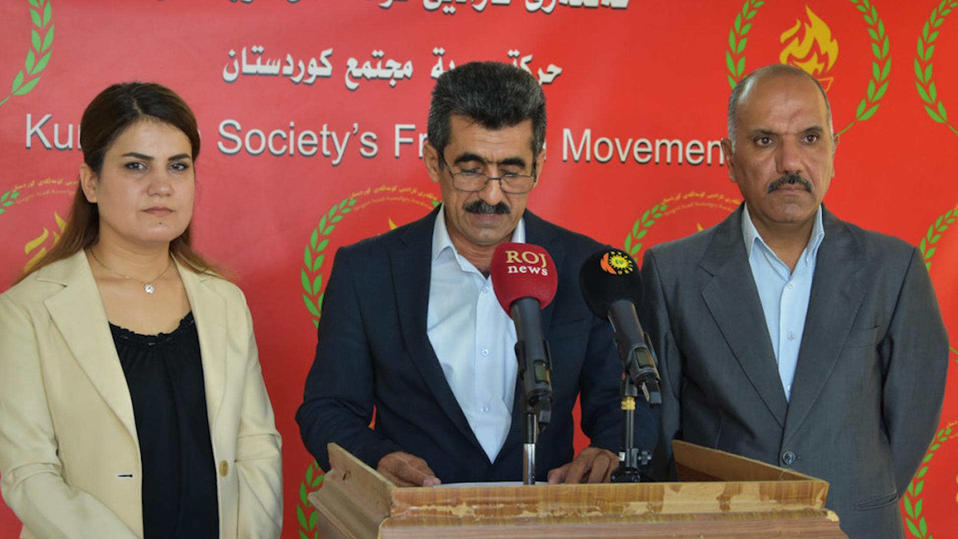 Photo of Partiya tevgera azadî civîna duh ya 9 partiyên siyasî yên başûrê Kurdistanê rexne kir
