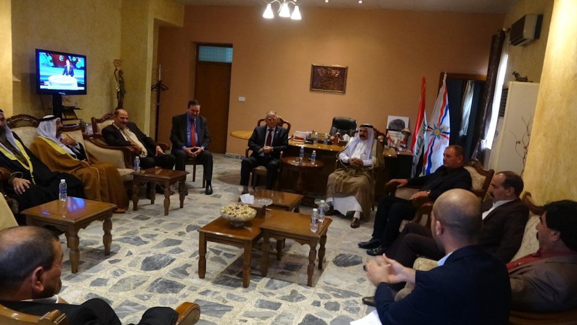 Photo of Şandeya nûnerên Şengalê  li Bexdayê bi parlamenterên Îraqê re civiya