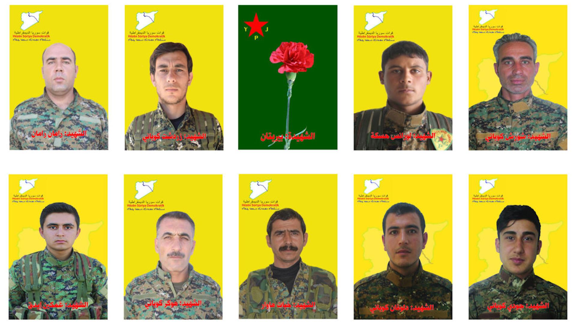 Photo of QSD'Ê NASNAMEYA 10 ŞERVANÊN XWE EŞKERE KIRIN