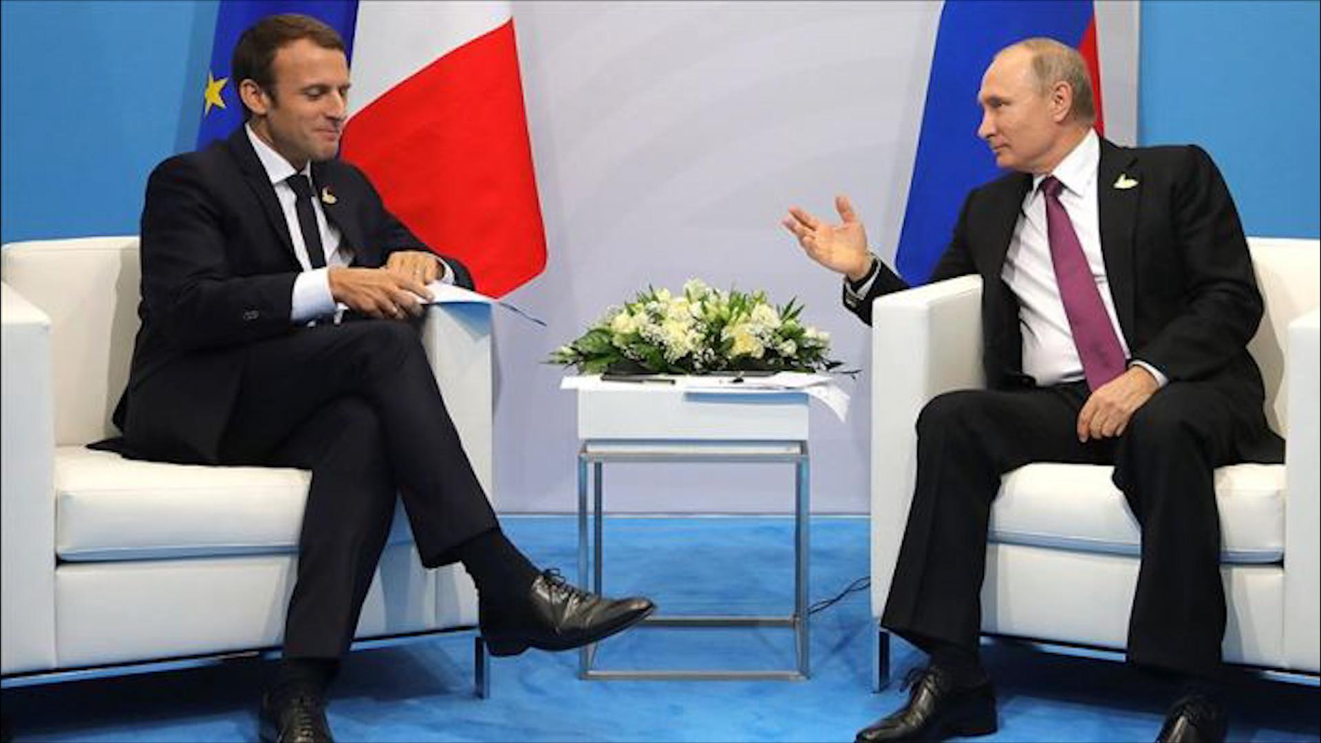 Photo of Putîn û Macron  ji bo Bakurê Sûrî peywendiyek telefonî encam dan