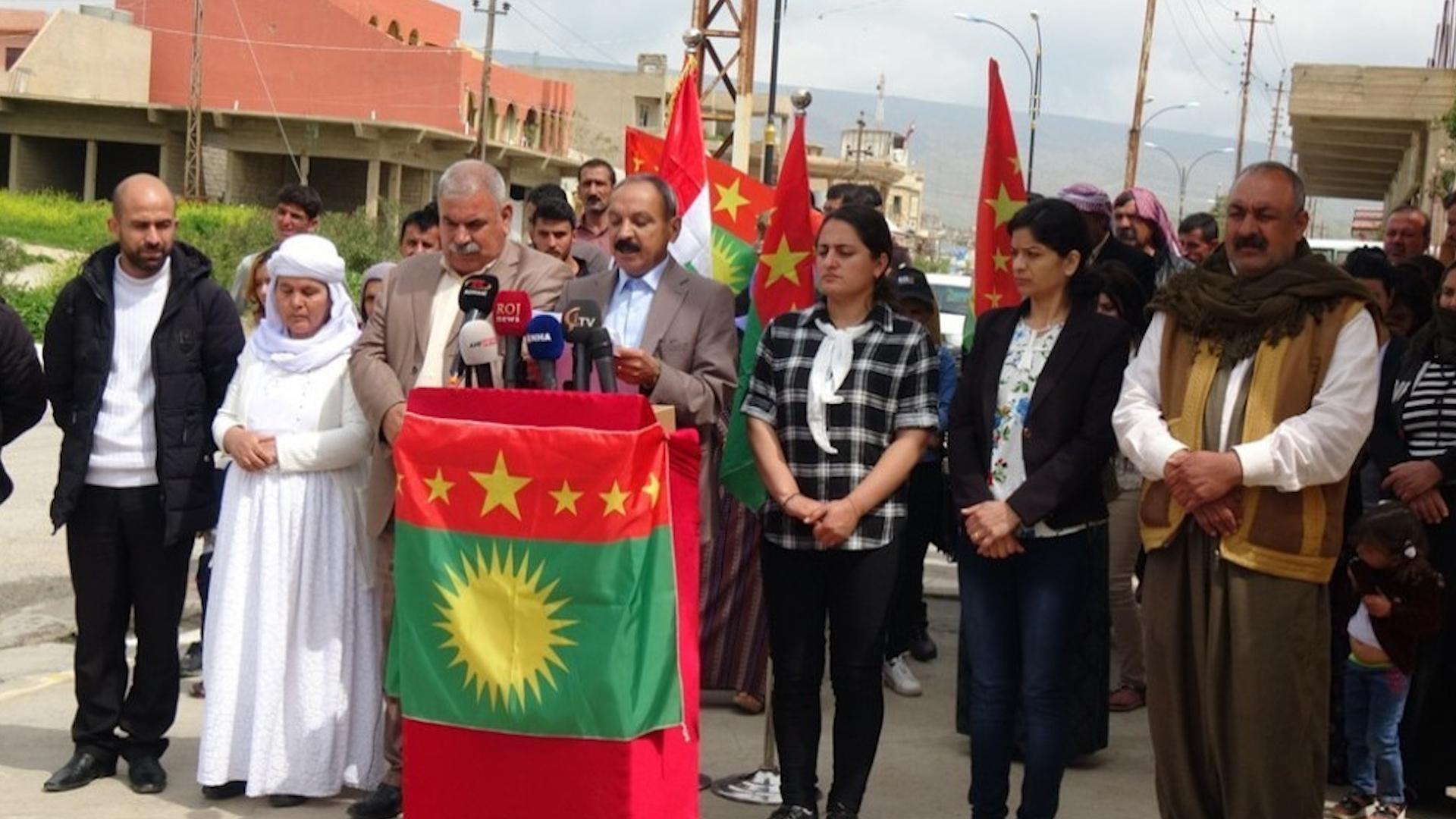 Photo of Meclisa Xweser a Şengalê ji ber tolhildana jinên Êzidî, spasiya QSD'ê kir