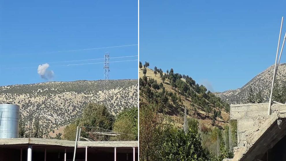 Photo of Balafirên artêşa dewleta Tirk gundên navçeya Zaxo ya Başûrê Kurdistanê bombebaran kirin