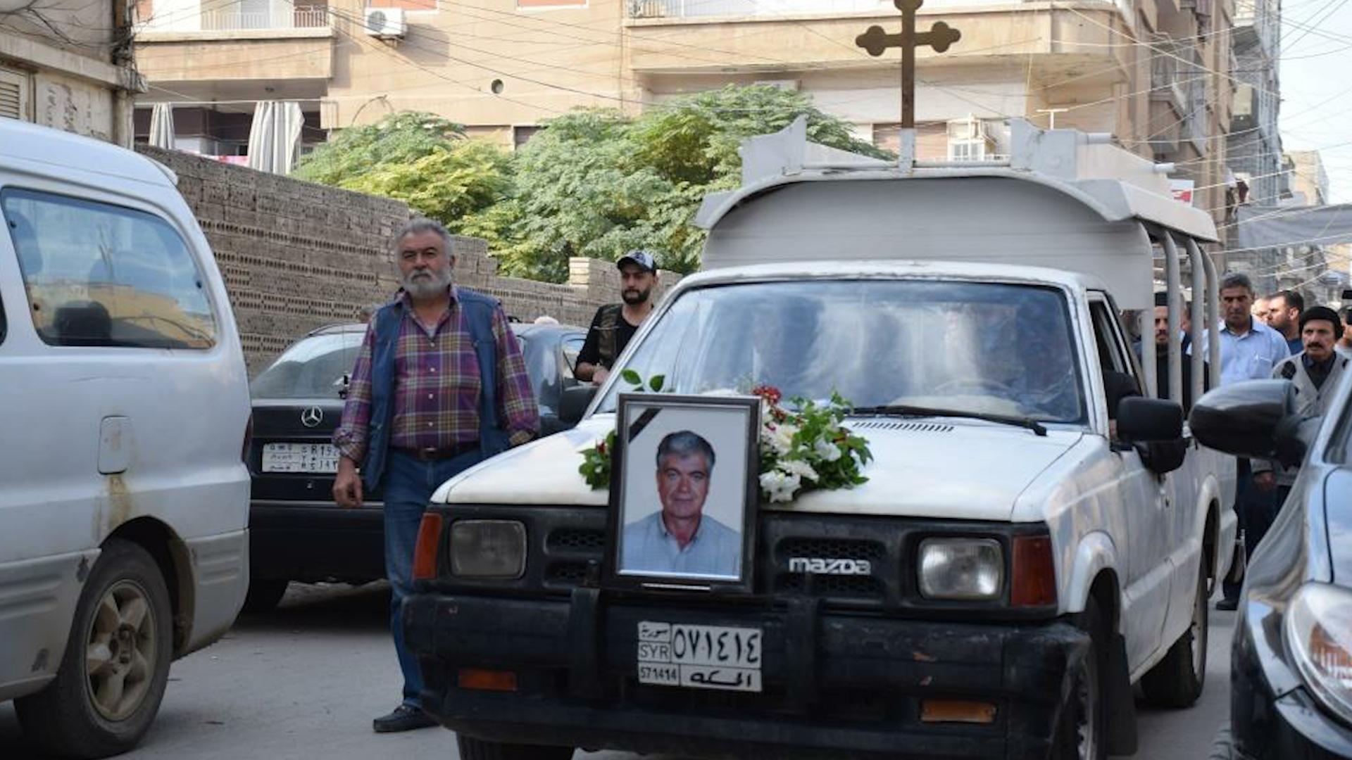 Photo of Hena Bîdoyan hate oxirkirin pêkhateyên Qamişlo tevlî merasîma cenazeyê bûn