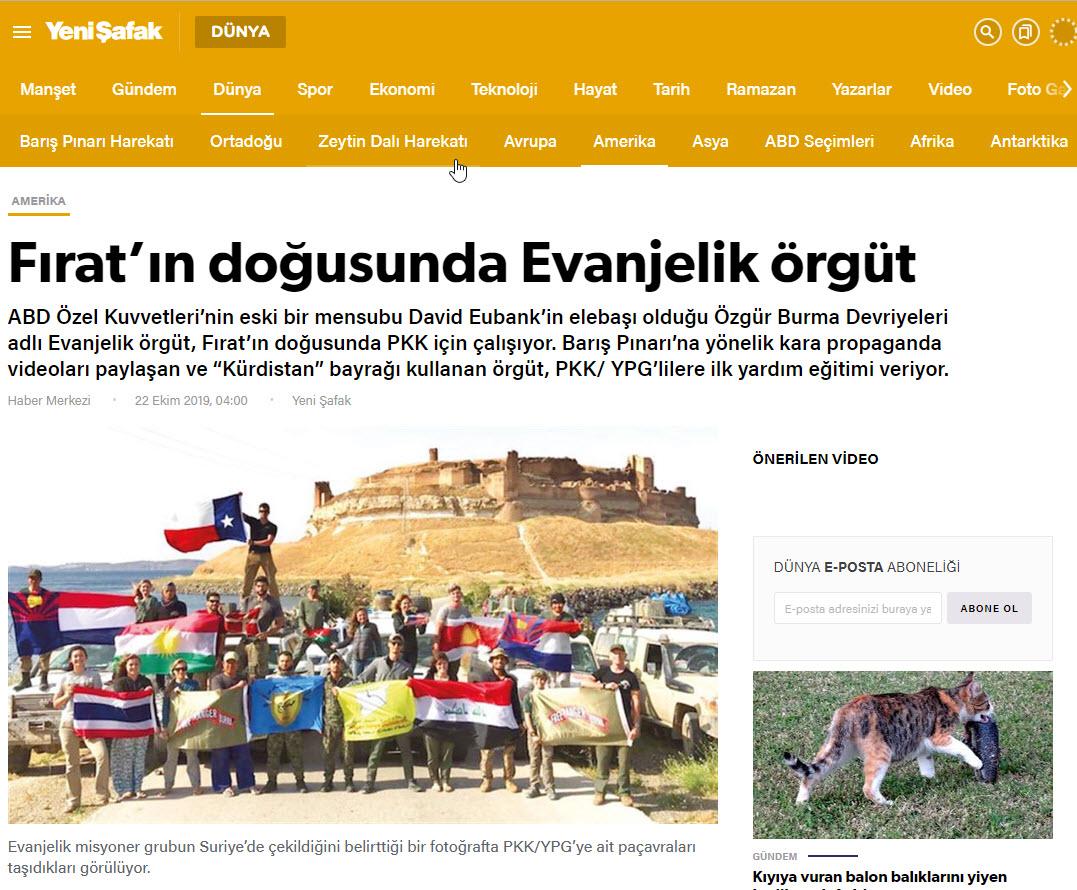 Photo of Kuştina xebatkarê rêxistina FRB Rojnameya Yenî Şafak hedef nîşan dabû