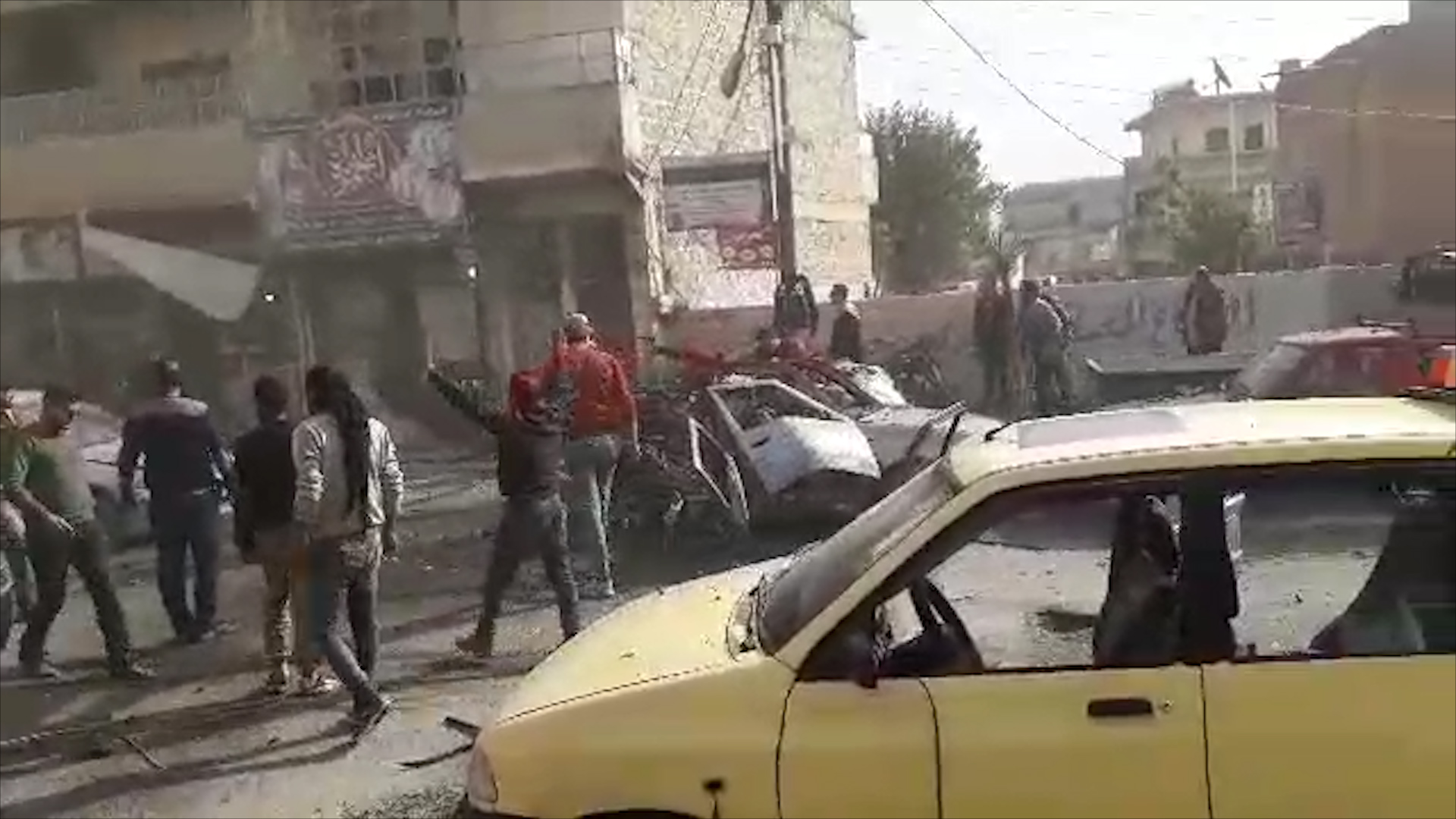 Photo of Li kolana Siyasiyê ya bajarê Efrînê teqînek rû da