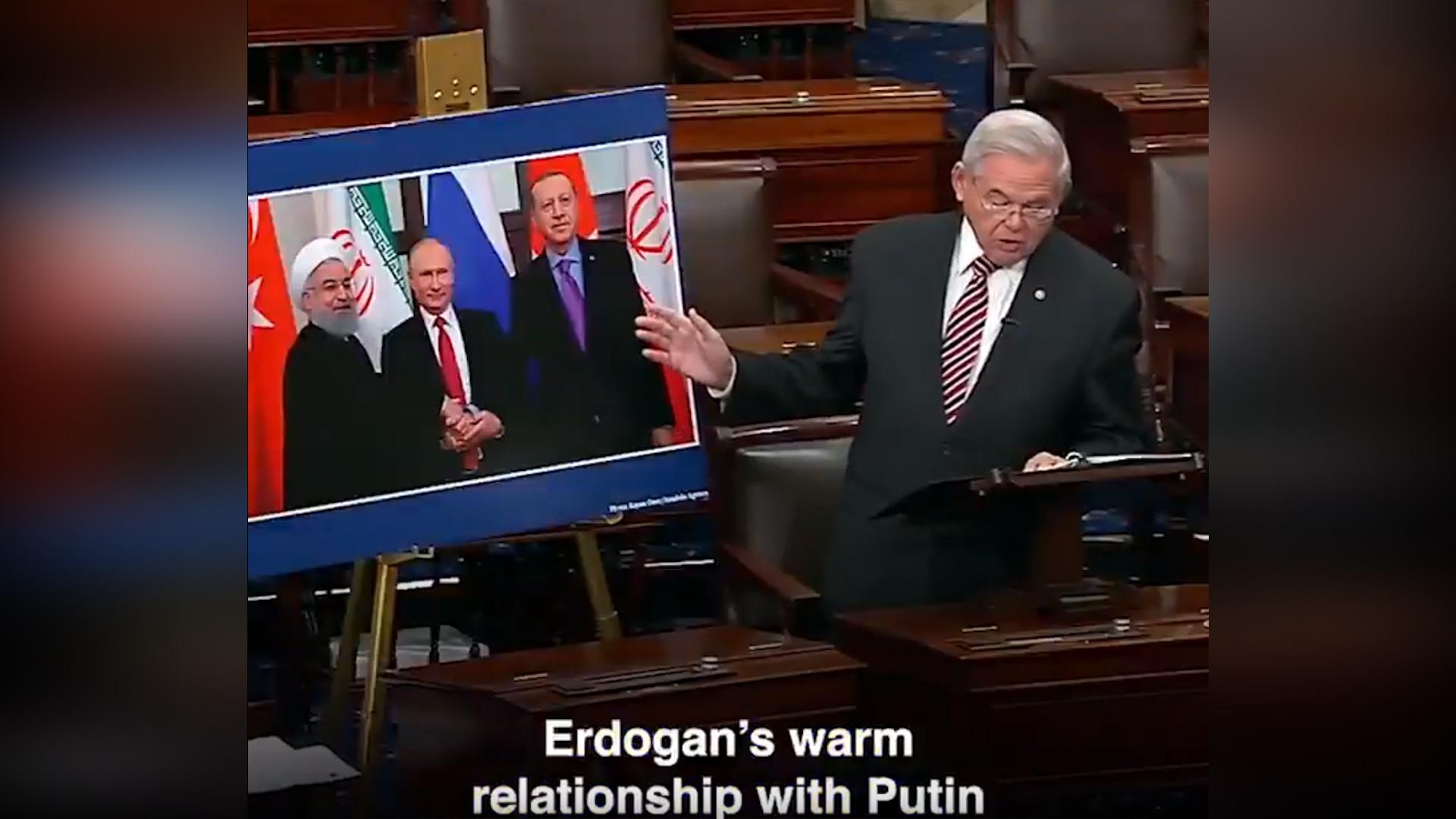 Photo of Senatorê Emerîkî Menedez: Divê Erdogan ne hevkarê me be