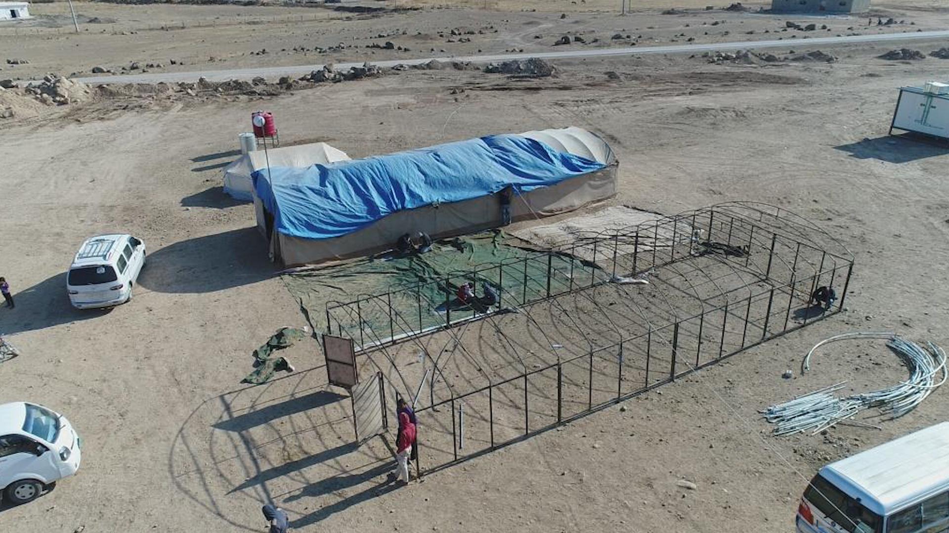 Photo of Rêveberiya Kampa Waşûkanî dest bi amadekirina binesaziya kampê kir