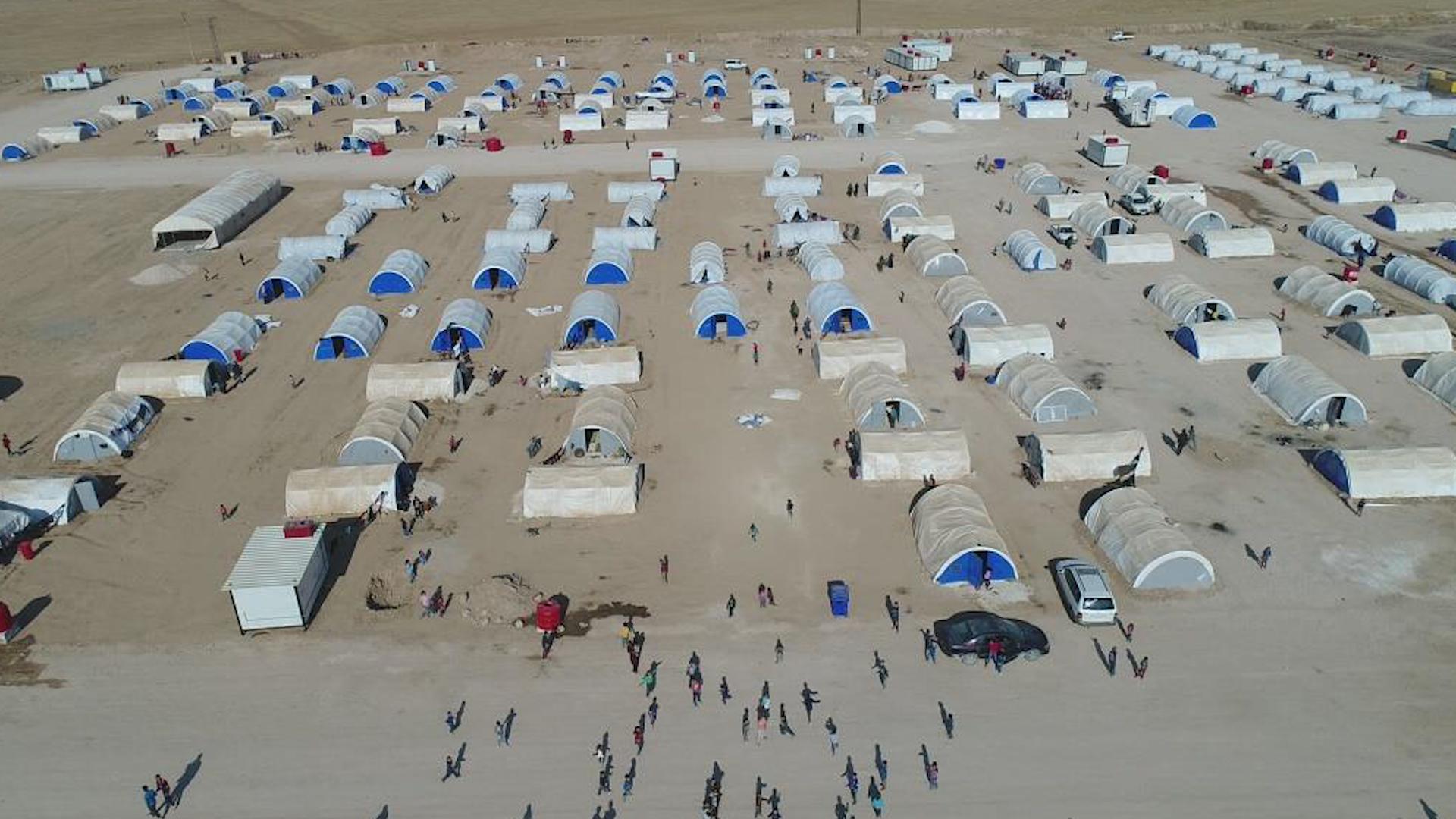 Photo of Li kampa waşûkanî hejmara koçberan bû 2 hezar û 195