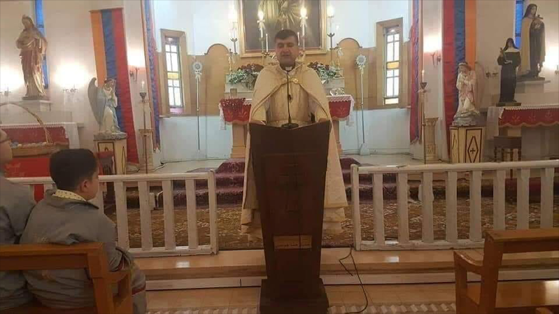Photo of Keşeyê Dêra Ermen a Qamişlo û bavê wî hatin kuştin