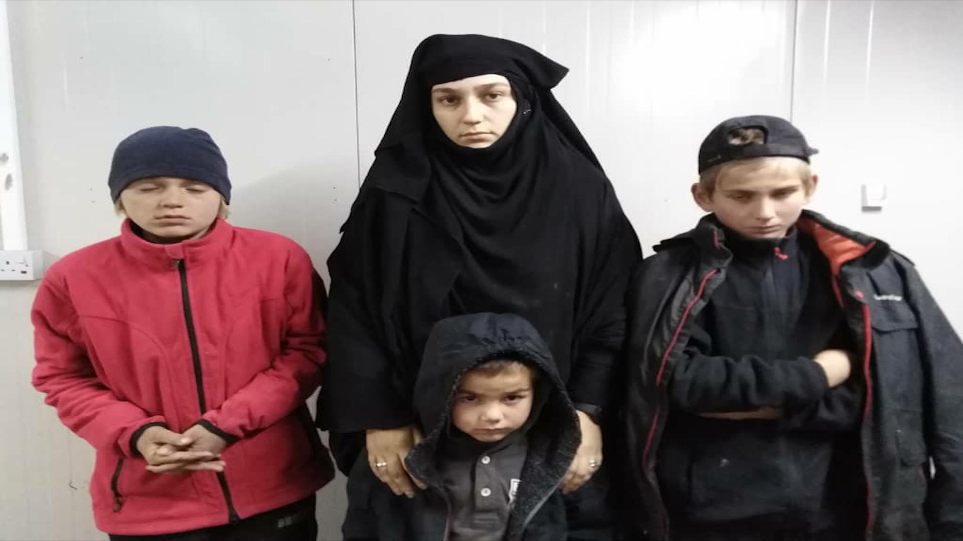Photo of Hewldana reva hinek jin û zarokên DAIŞ'ê hat têkbirin