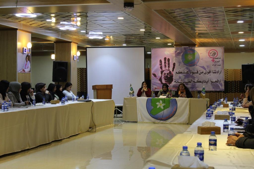 Photo of 25'ê Mijdarê roja têkoşîna li dijî tundiya li ser Jinê li Qamişlo û Halebê panel û semîner hatin lidarxistin