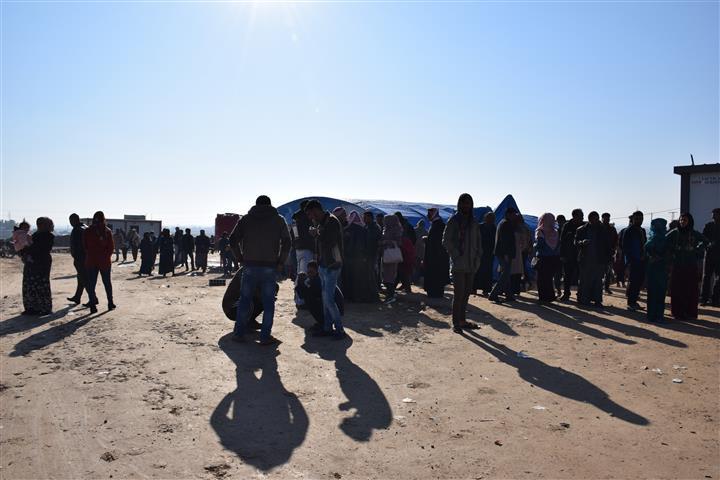 Photo of Beşeke nû ji koçberan gîhîşt kampa Waşokanî