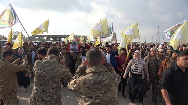 Photo of Şêniyên Tebqayê şehîdê Lîwa Şoreşgerên Idlibê oxir kirin