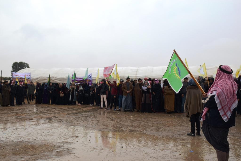 Photo of Çalakiya konvedanê li navçeya Eyn Îsayê di roja 3'yan de dewam kir