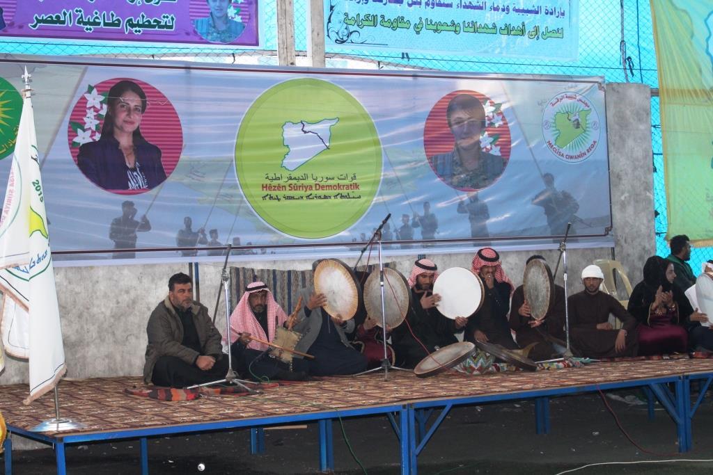 Photo of Li Reqayê, ji aliyê meclisa ciwanan ve mihrîcanek hat lidarxistin