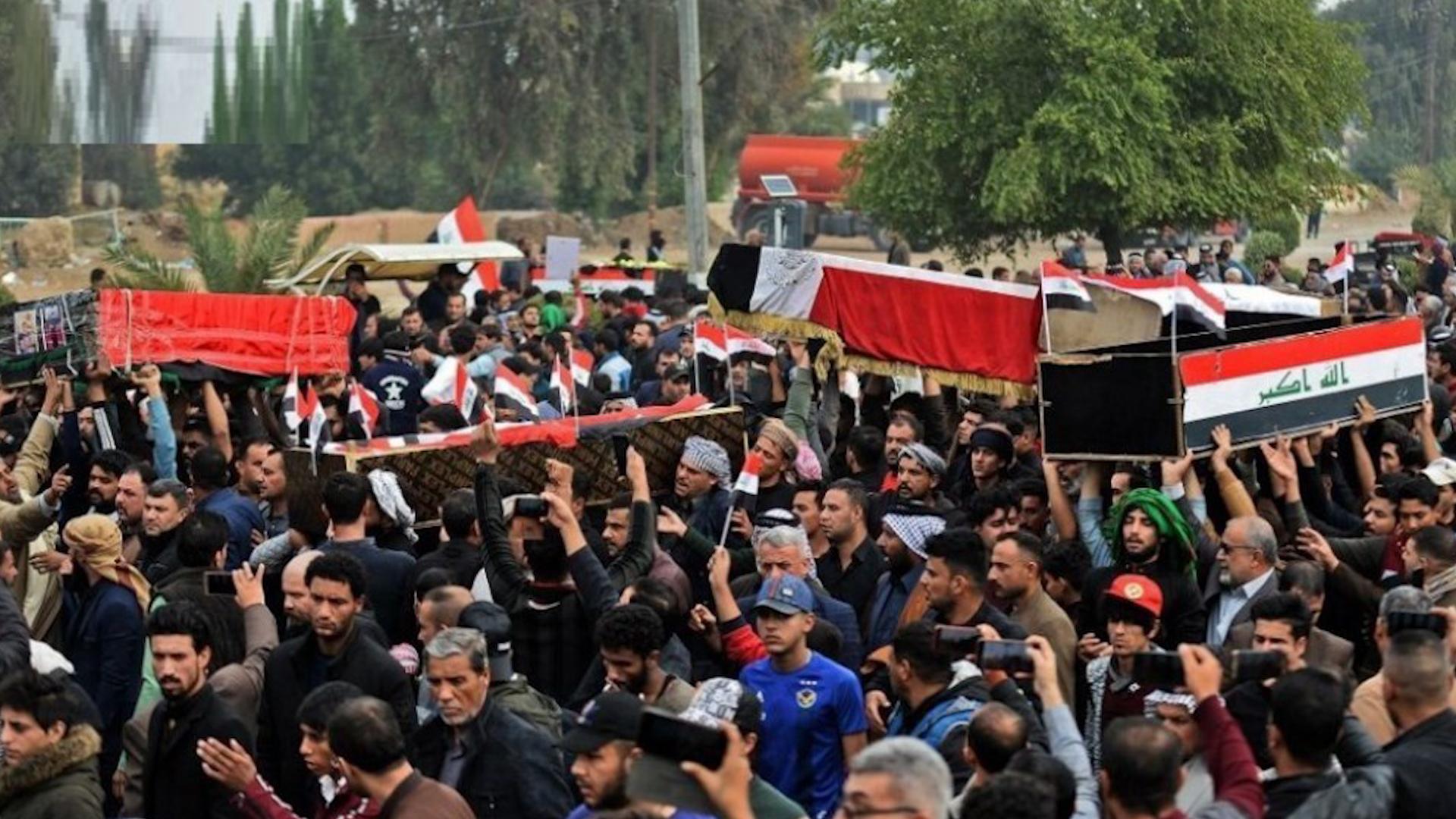 Photo of Ji bo merasîmê xwepêşandêran li Iraqê 2 rojan şîn hat ragihandin