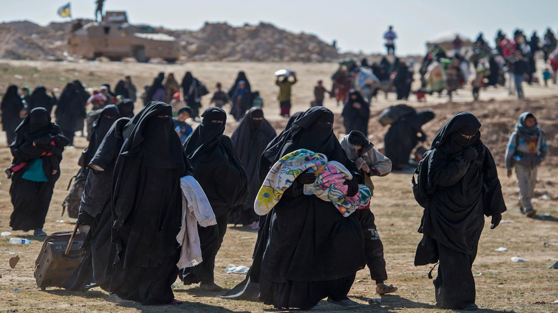 Photo of 7 jinên DAIŞ'î yên Tirk xwe radestî Tirkiyê kirin