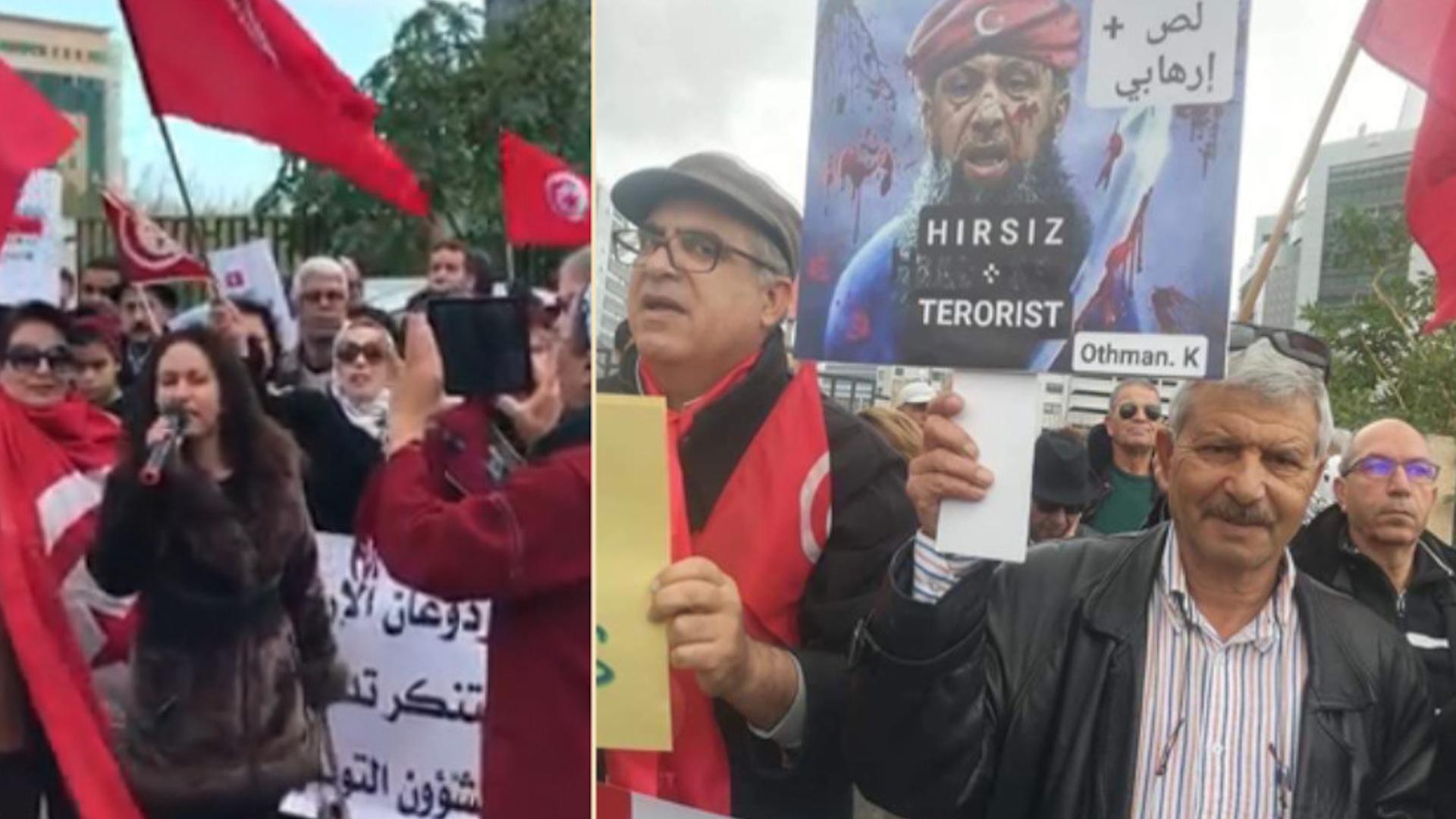"""Photo of Tûnisiyan, Erdogan bi gotinên """"diz û Terorîst"""" şermezar kir"""