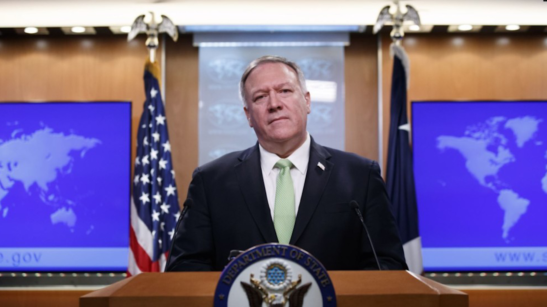 Photo of Mike Pompeo: ji ber êrîşên li Iraqê Îran hişyar kir