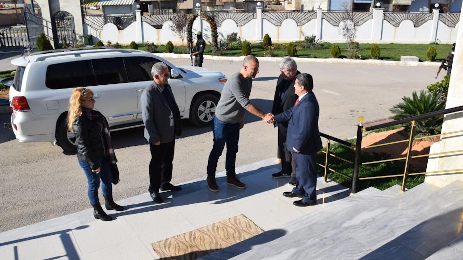 Photo of Şandeyek siyasî ya Danîmarkî serdana Qamişlo kir
