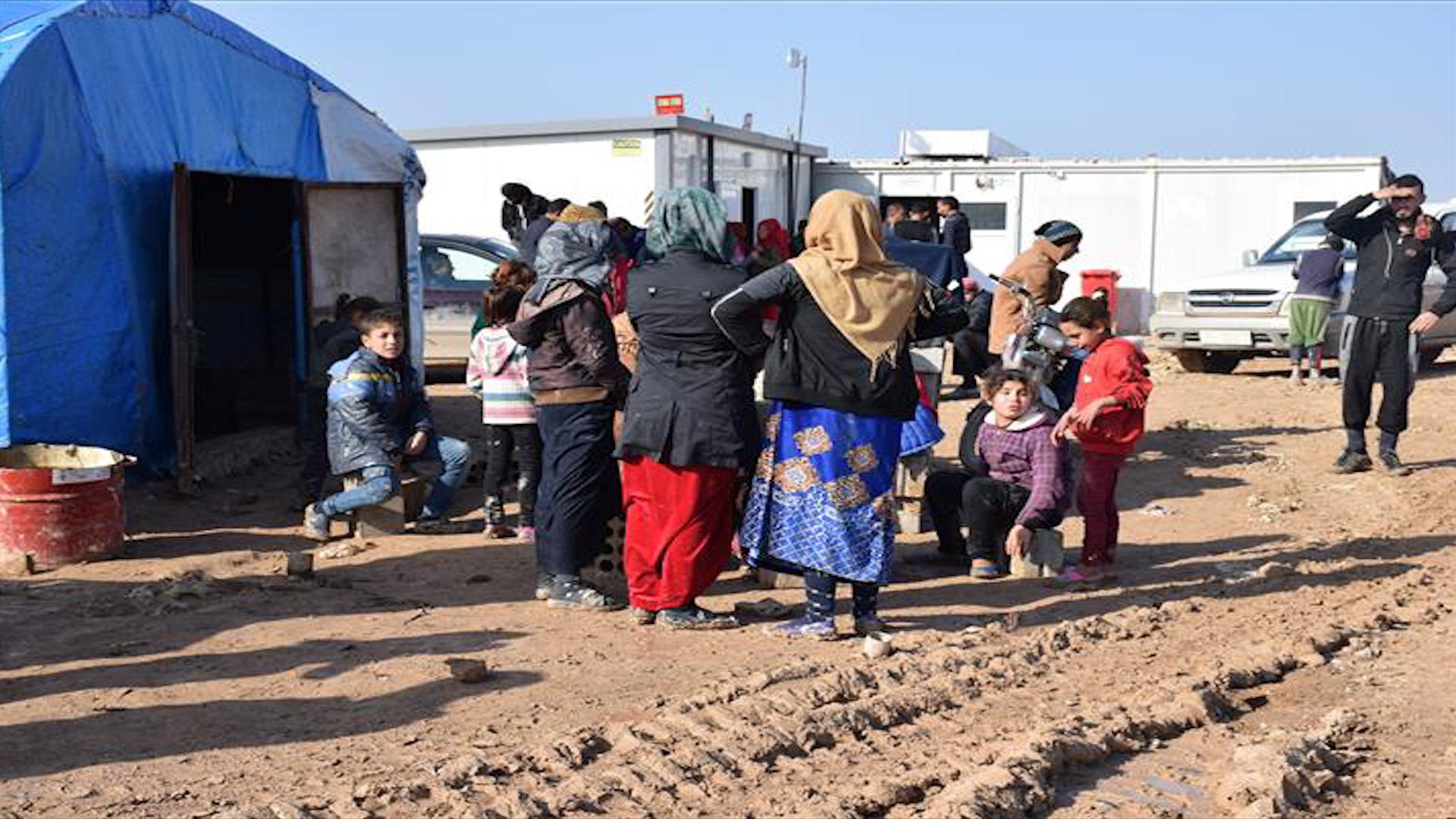 Photo of Hejmara koçberan li kampê gihaşt 4 hezar û 500 koçberî
