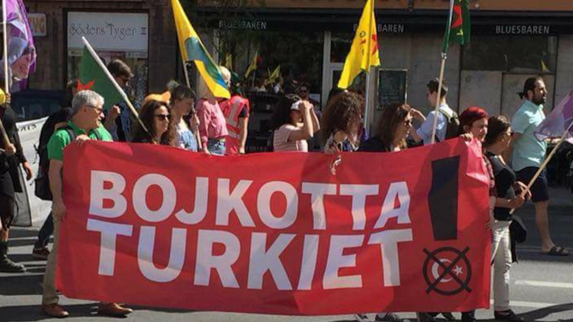 Photo of Li Swêdê pêngavek boykotê hate destpêkirin