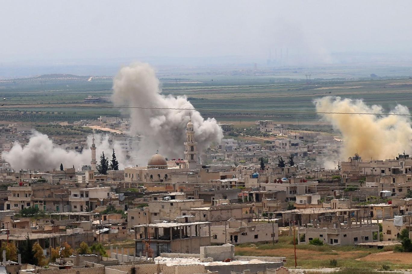 Photo of Balafirên şer ên Rûsyayê gundewarên Idlib û Lazqiyê bombebaran kirin