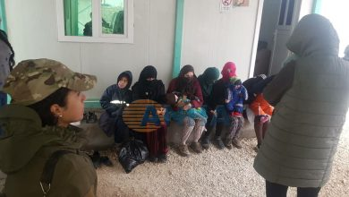 Photo of Li kampa Holê 6 jinên DAIŞ'î ku hewl dan birevin hatin girtin