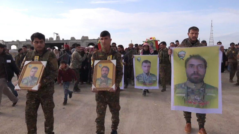 Photo of Şehîd Ehmed Cedû û Şemsî Cedû li Tepqayê bi merasîmeke girseyî hatin oxirkirin