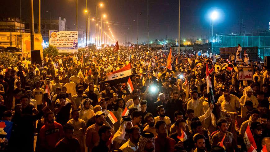 Photo of Li Iraqê: di du rojan de, 10 xwepêşander hatin kuştin, bi dehan kes jî birîndar bûn