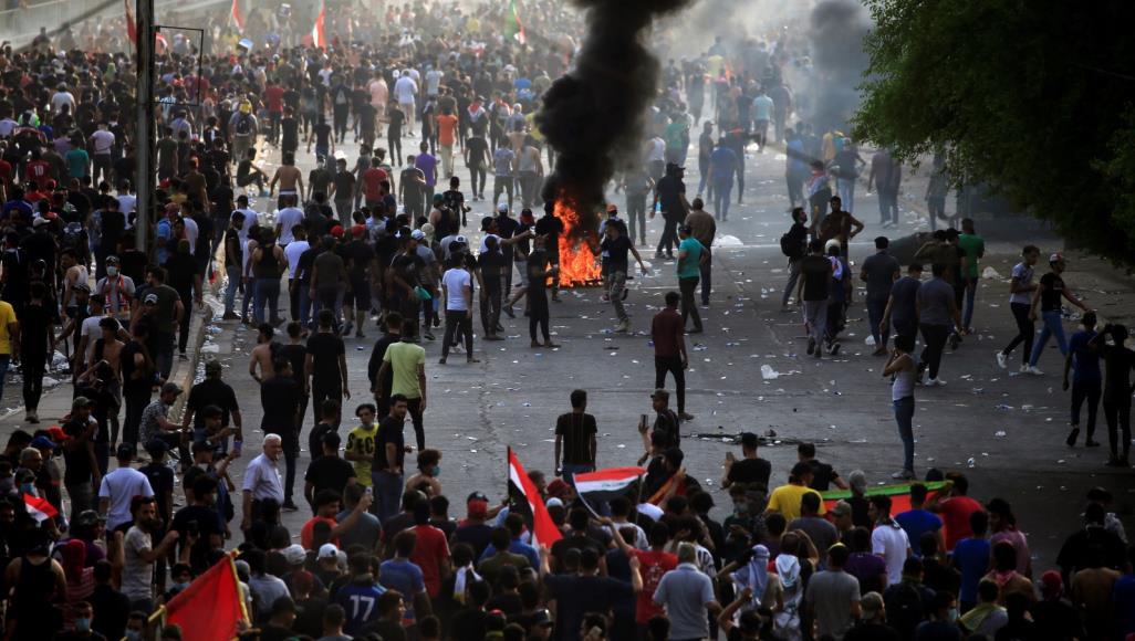 Photo of Li Iraqê ..Tê gotin ku hejmarek xwepêşander hatin kuştin