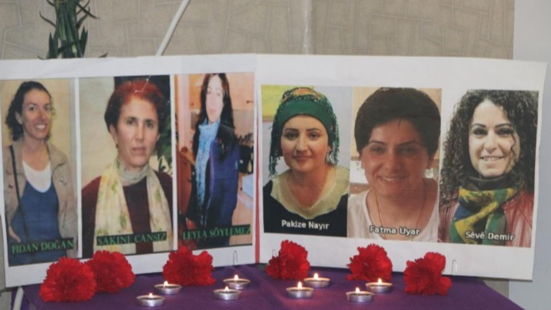 Photo of HDP û KCD'ê 6 jinên kurd ên şoreşger bi bîr anîn